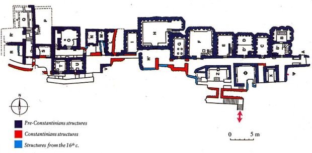 Scavi at St. Peter's 002; Plan_of_the_Necropolis