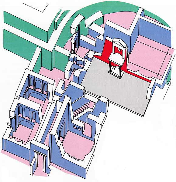 Scavi at St. Peter's 003; Plan_of_the_Necropolis
