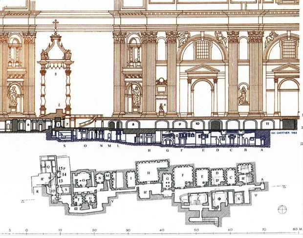 Scavi at St. Peter's; Plan_of_the_Necropolis