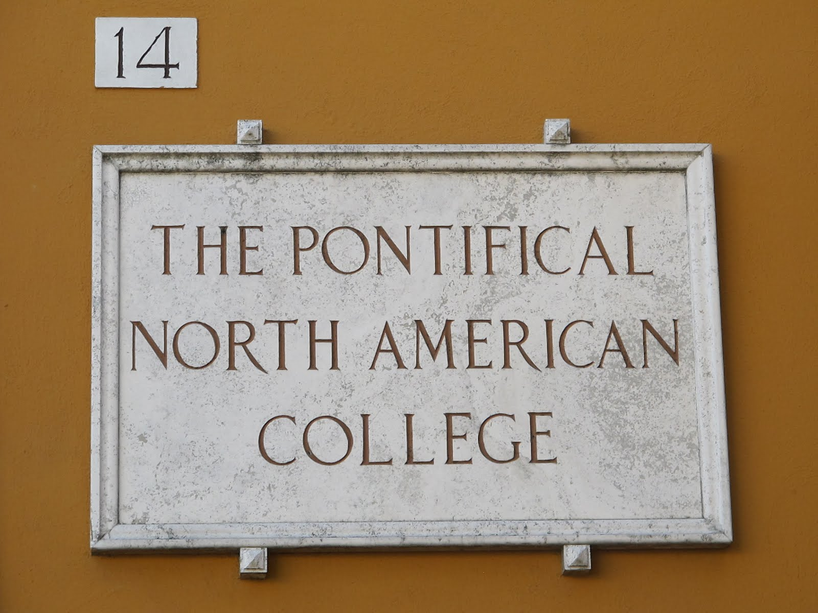 pontifical north college rome - photo#22