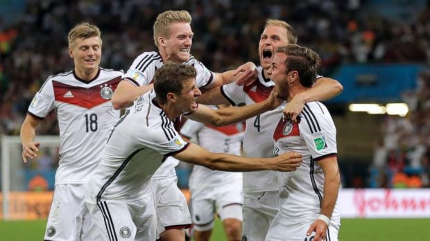 2014 world cup germany win