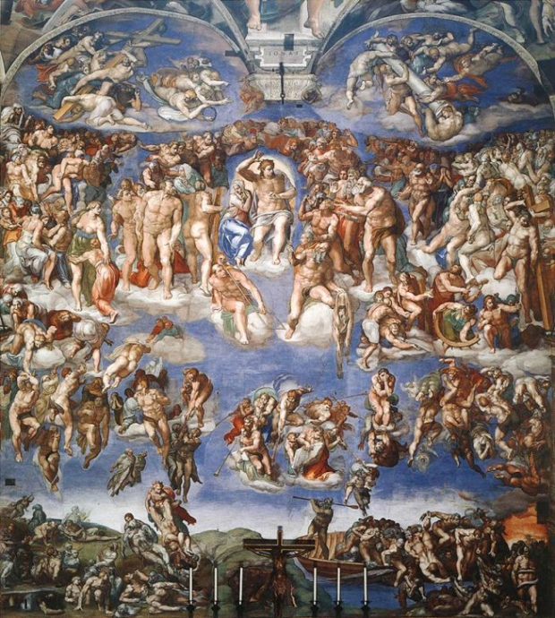 last judgement michaelangelo