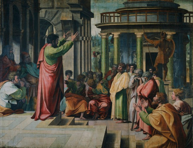 Raphael, St Paul Preaching in Athens (1515)